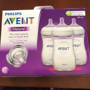 Philips Avent Natural Bottles 3-pack
